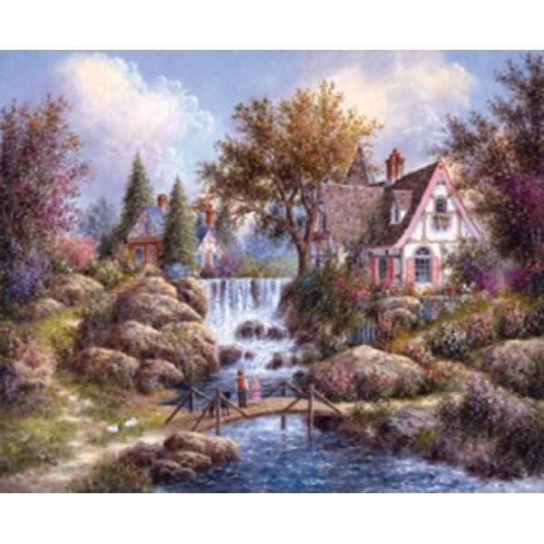 Angel Falls Countryside Jigsaw Puzzle