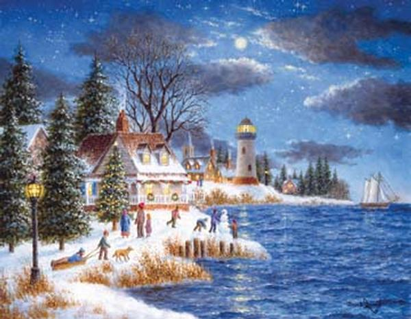 A Time to Celebrate Christmas Jigsaw Puzzle