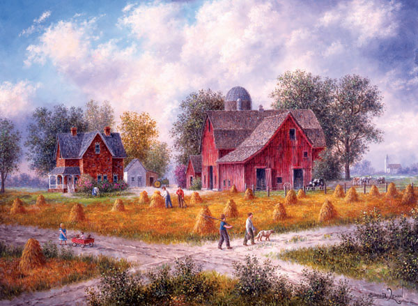 Heartland Crossroads Countryside Jigsaw Puzzle