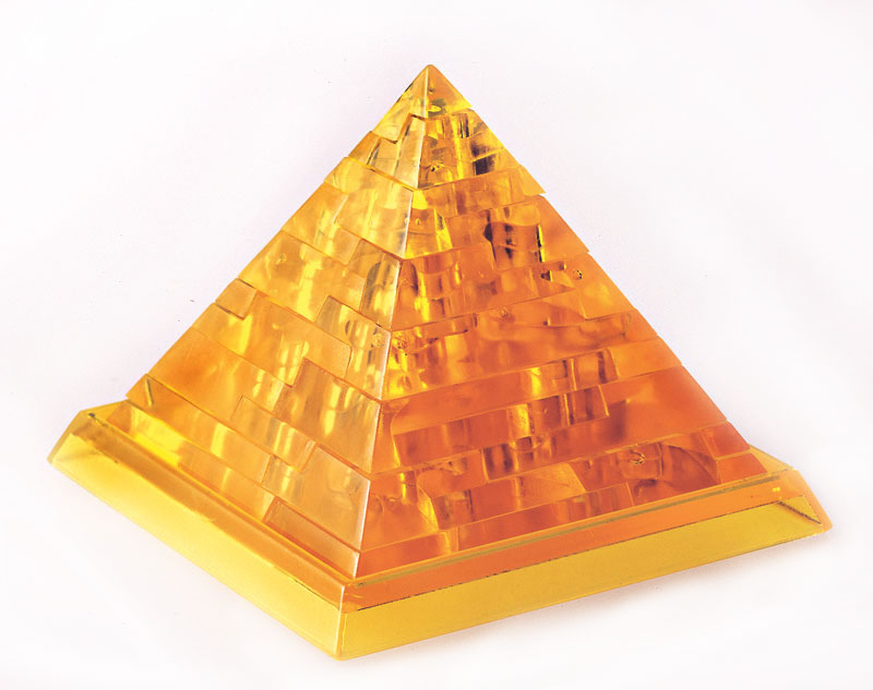 Clearly Puzzled - Pyramid Jigsaw Puzzle | PuzzleWarehouse.com