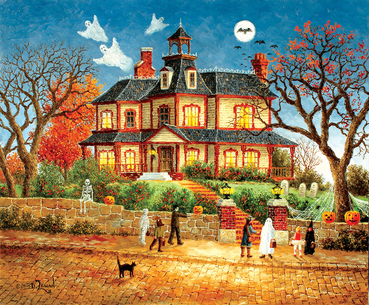 You Go First! Halloween Jigsaw Puzzle