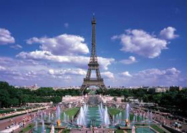 Eiffel Tower, France (Mini) Landmarks / Monuments Jigsaw Puzzle