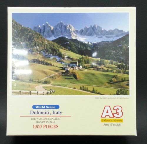 Dolomite, Italy  (Mini) Mountains Jigsaw Puzzle
