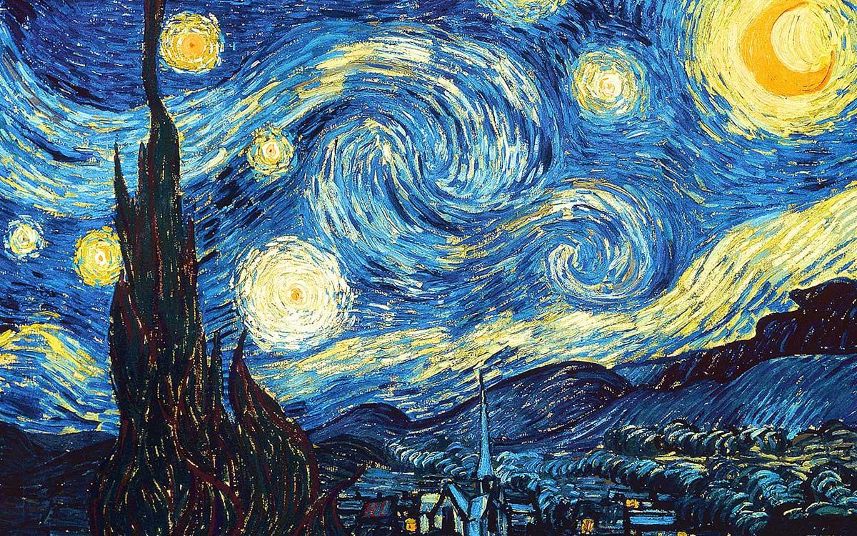 Starry Night (Mini) Fine Art Jigsaw Puzzle