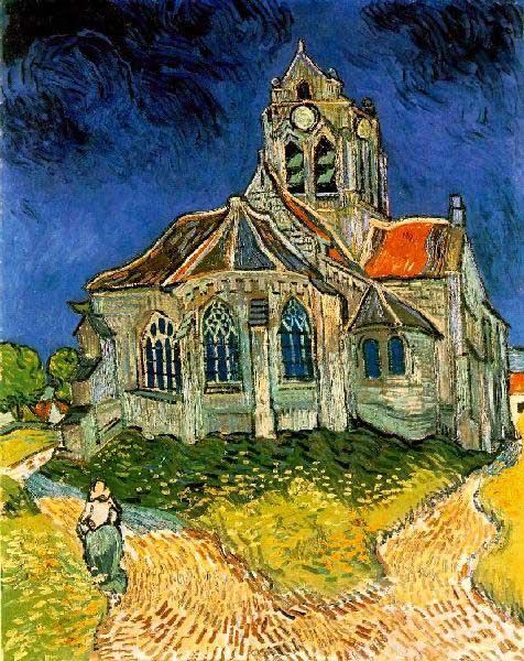 The Church At Auvers (Mini) Fine Art Jigsaw Puzzle