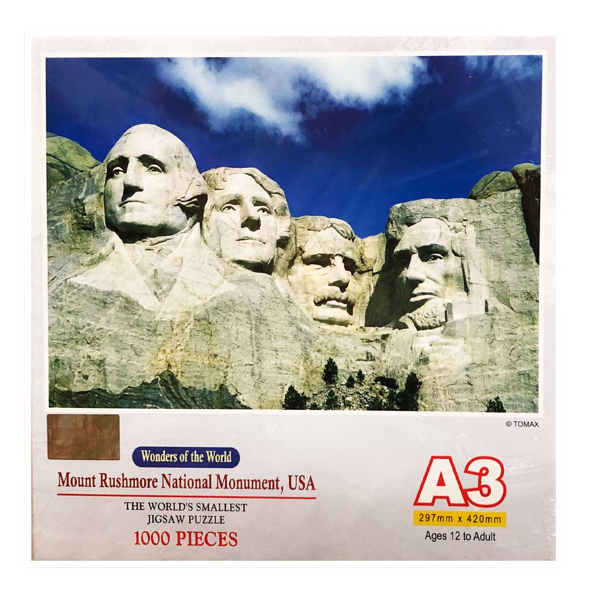 Mount Rushmore National Monument Mountains Jigsaw Puzzle