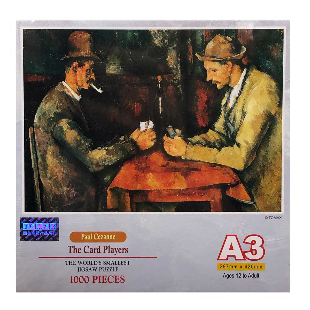 The Card Players Fine Art Jigsaw Puzzle