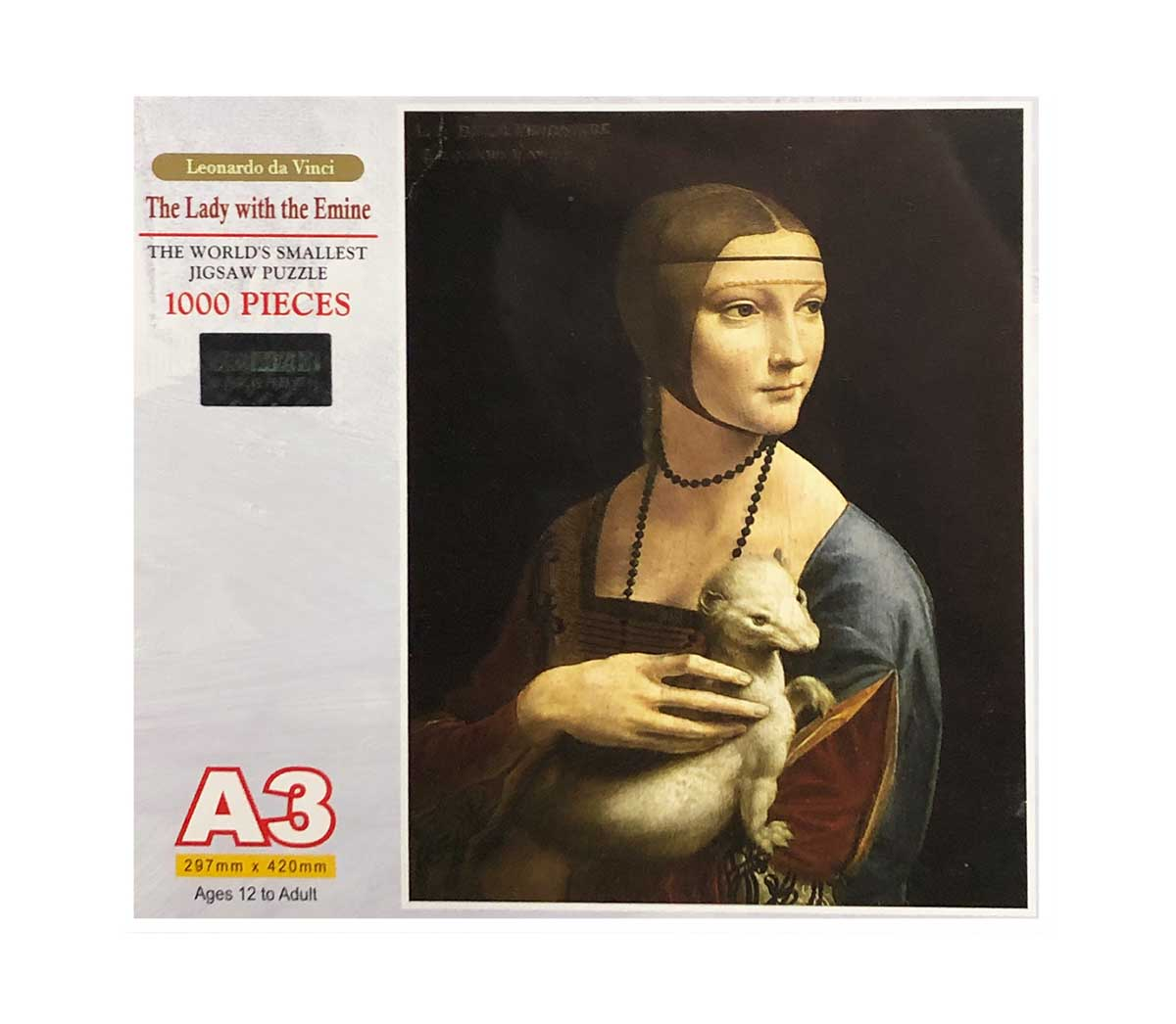 The Lady with the Emine Fine Art Jigsaw Puzzle