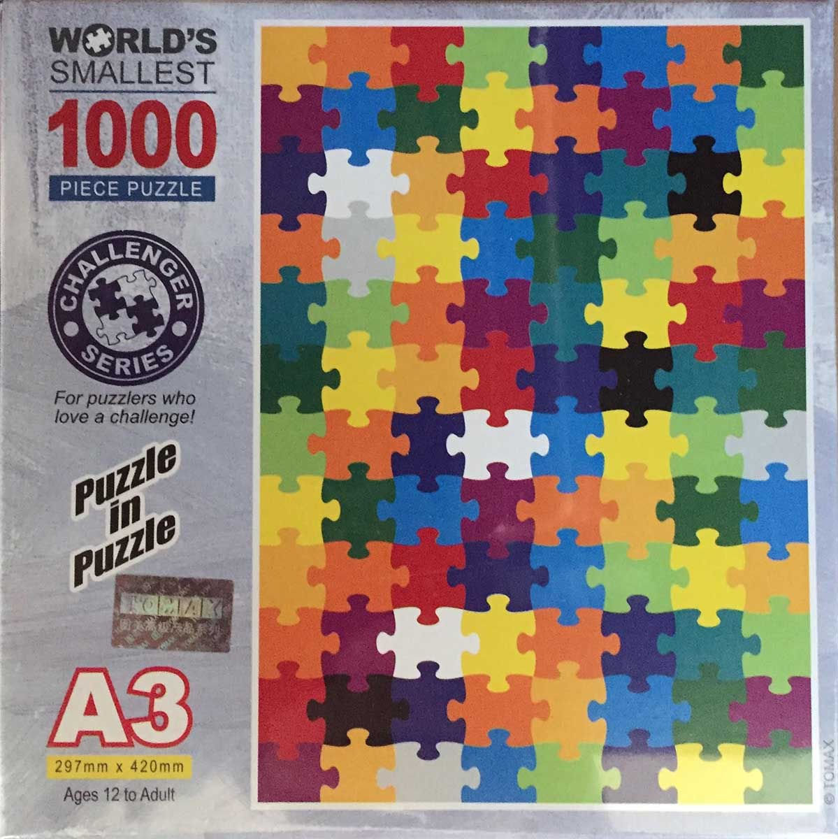Puzzle in Puzzle Abstract Jigsaw Puzzle