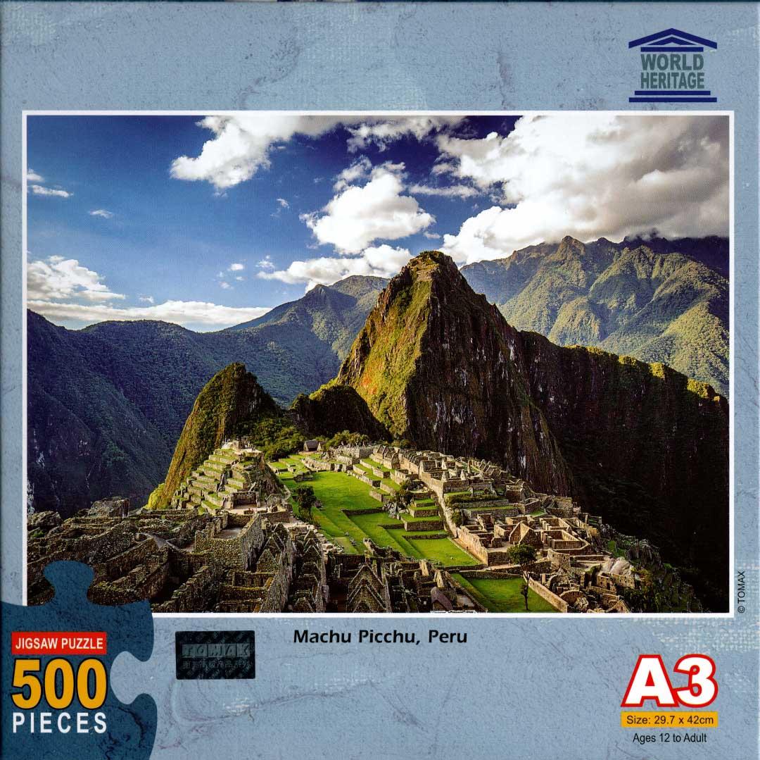 Machu Picchu, Peru Travel Jigsaw Puzzle