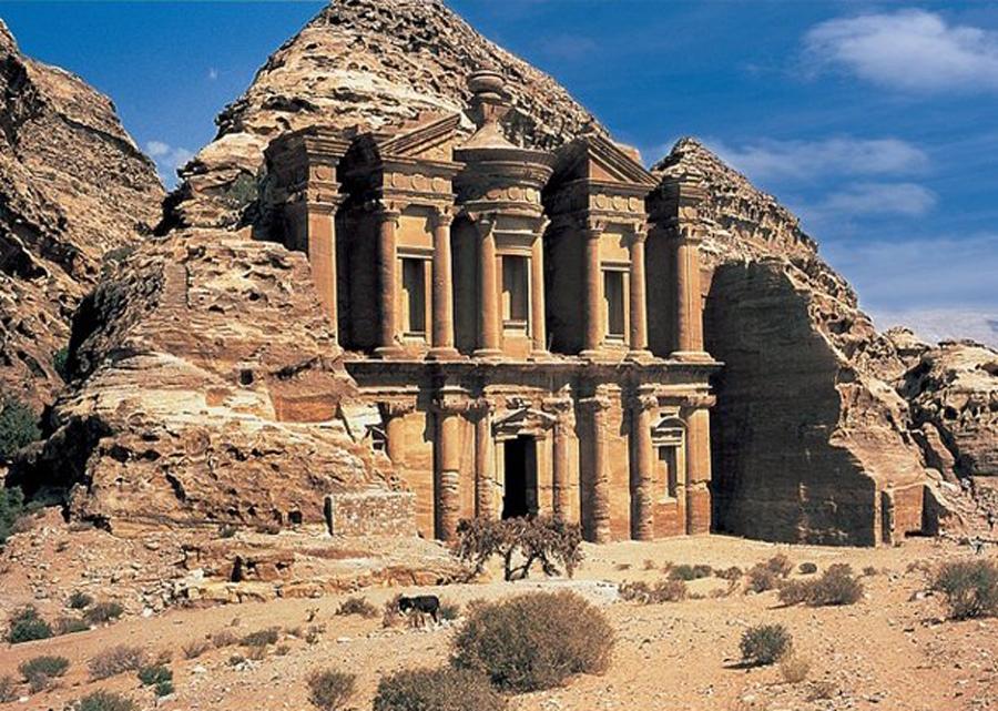 Jordan Petra(Mini) Travel Jigsaw Puzzle