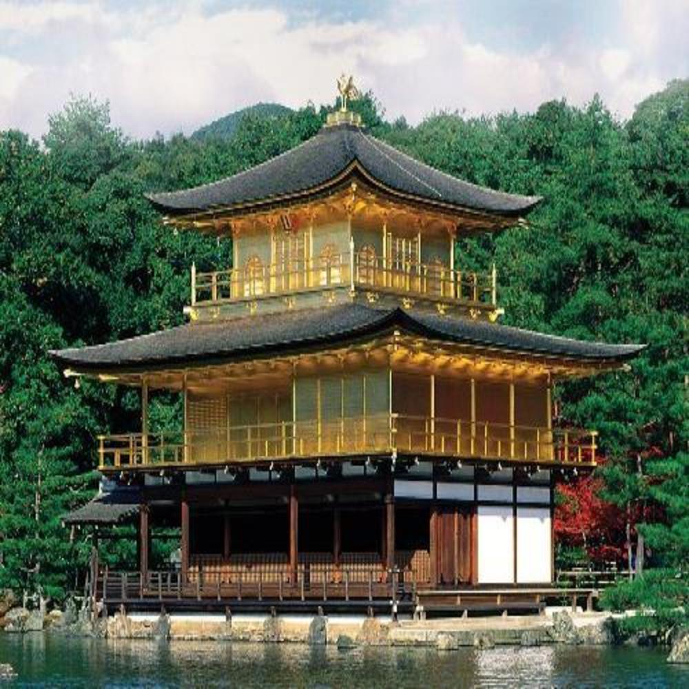 Japan Kinkakuji Temple (Mini) Religious Jigsaw Puzzle
