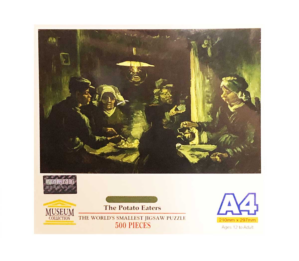The Potato Eaters - Scratch and Dent Fine Art Jigsaw Puzzle