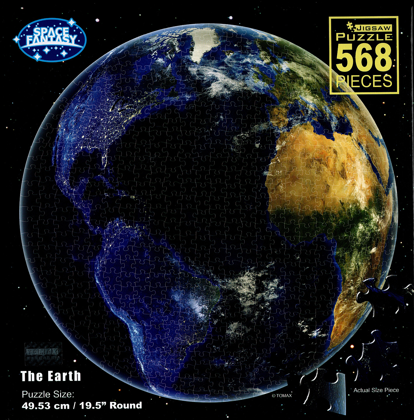 The Earth - Round Space Jigsaw Puzzle