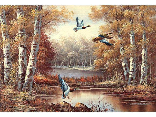 Flying Forest Jigsaw Puzzle