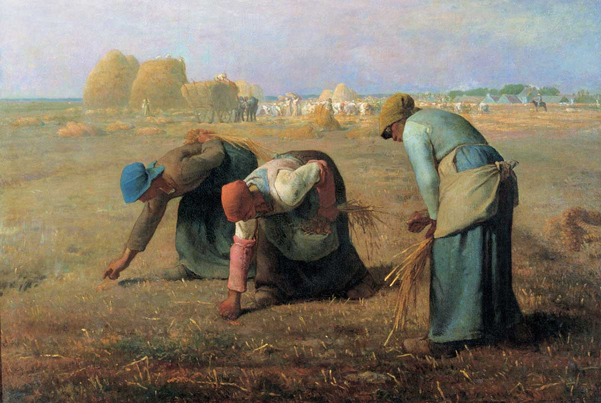 The Gleaners Fine Art Jigsaw Puzzle