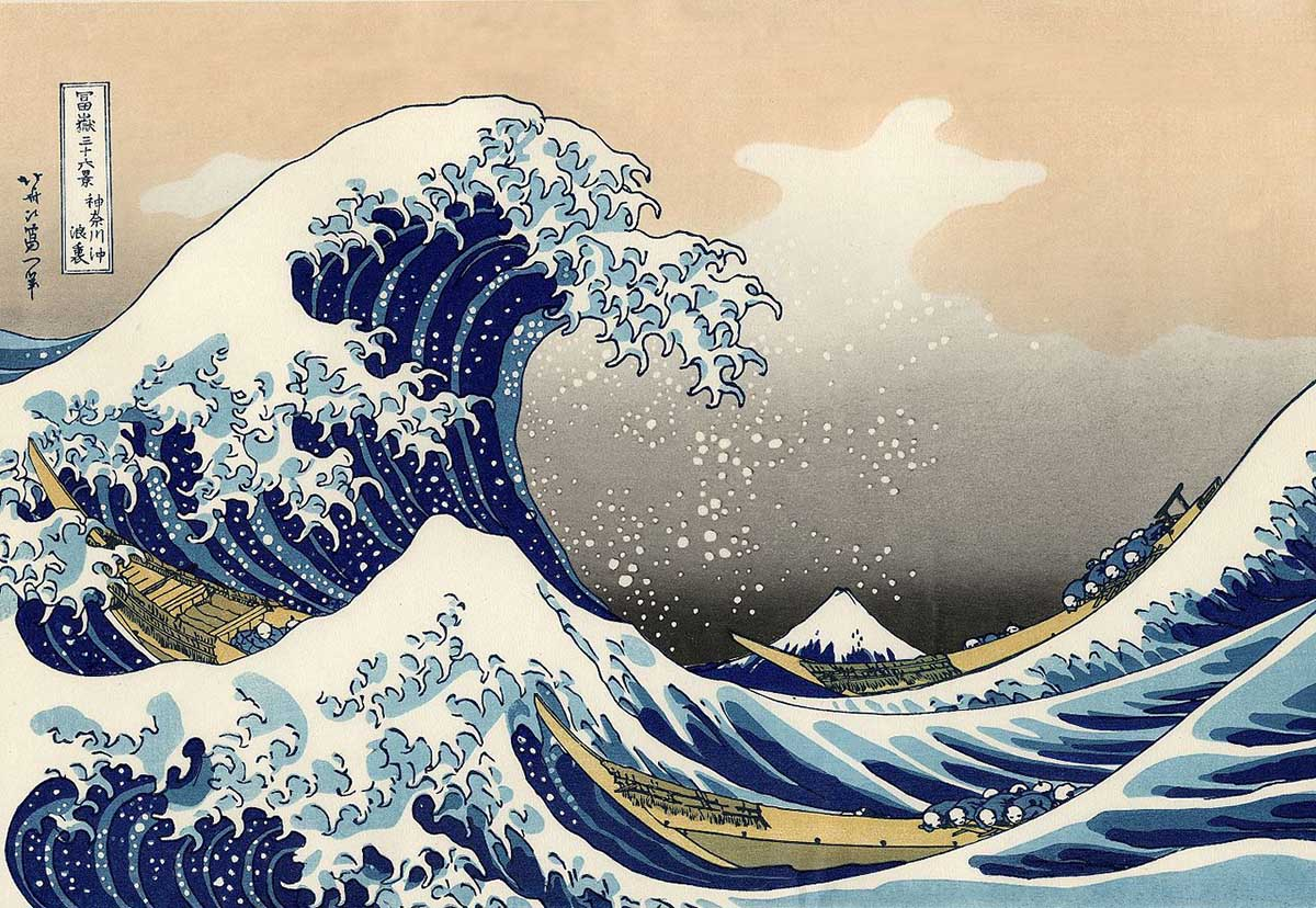 Great wave off Kanagawa Fine Art Jigsaw Puzzle