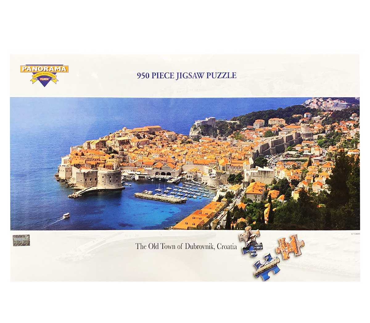 The old town of Dubrovnik Seascape / Coastal Living Jigsaw Puzzle