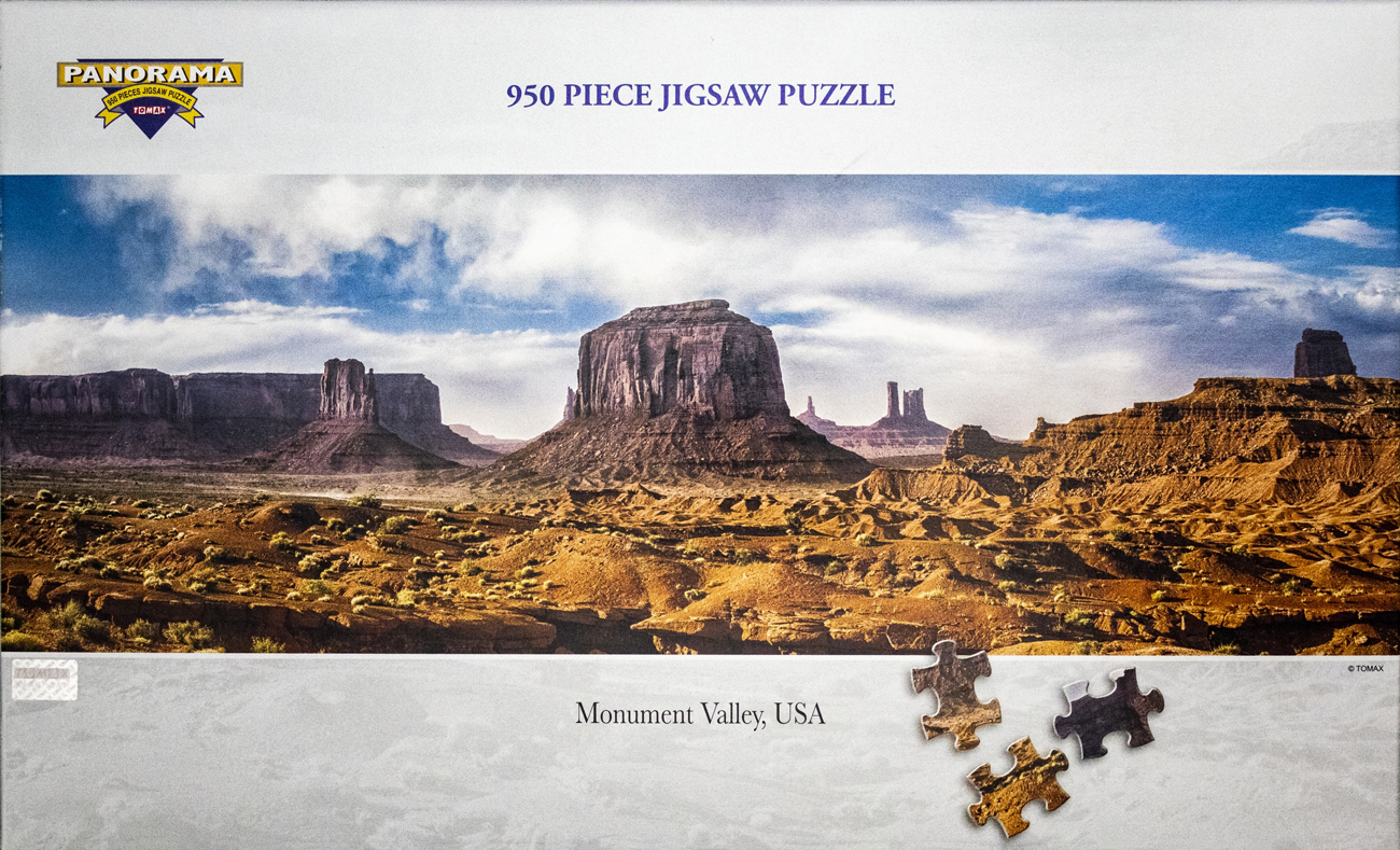 Monument Valley, USA United States Jigsaw Puzzle
