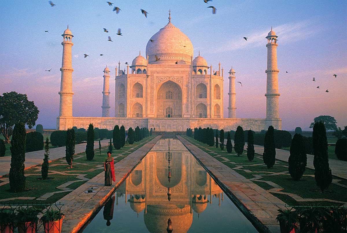 Taj Mahal, India Travel Jigsaw Puzzle