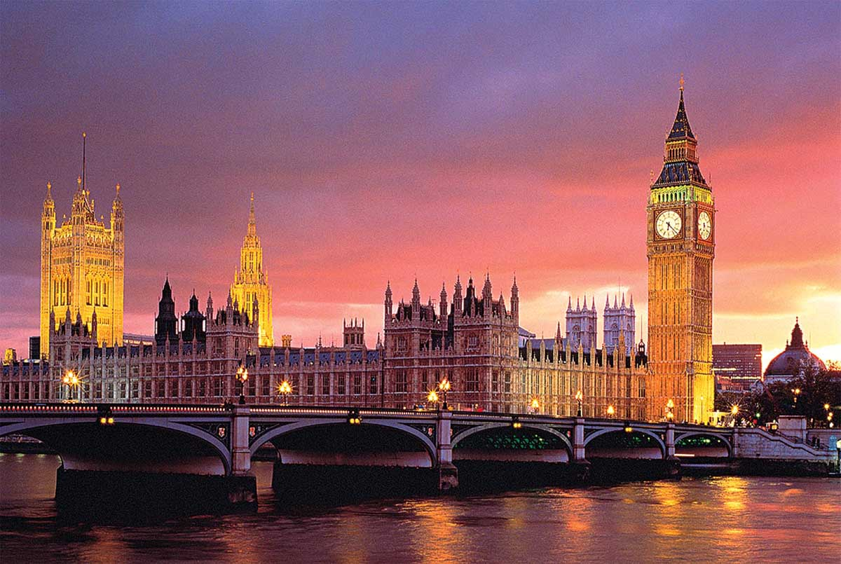 House Of Parliament, London Landmarks / Monuments Jigsaw Puzzle