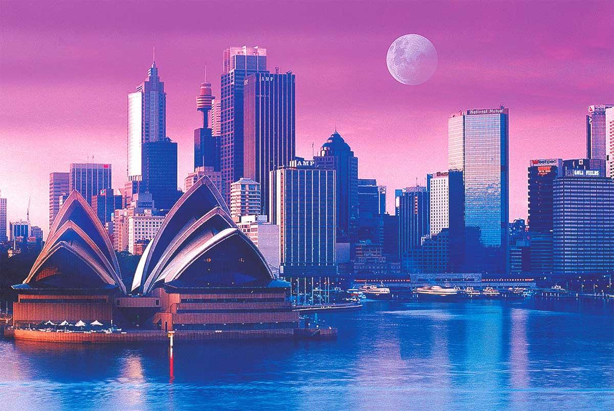 Opera House - Sydney, Australia Travel Jigsaw Puzzle