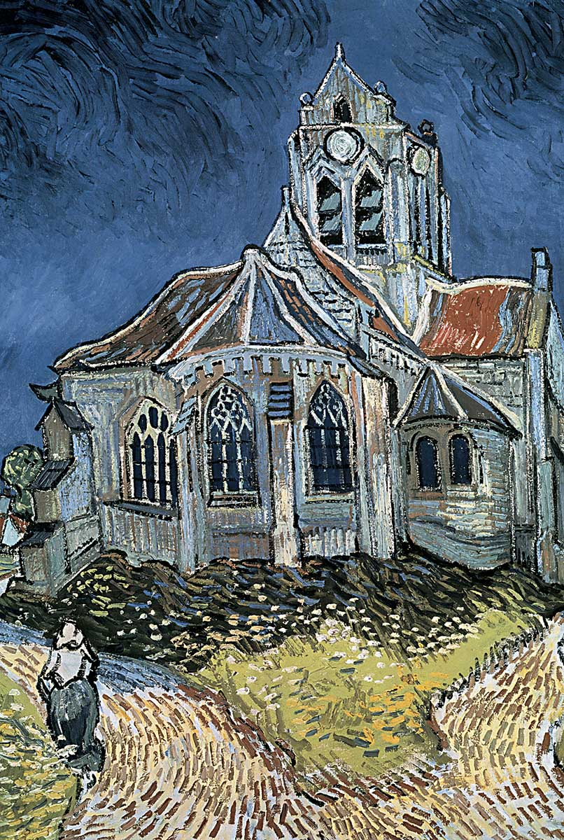 Church at Auvers Impressionism Jigsaw Puzzle