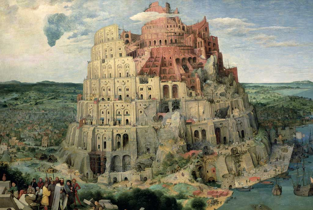 The Tower of Babel Fine Art Jigsaw Puzzle