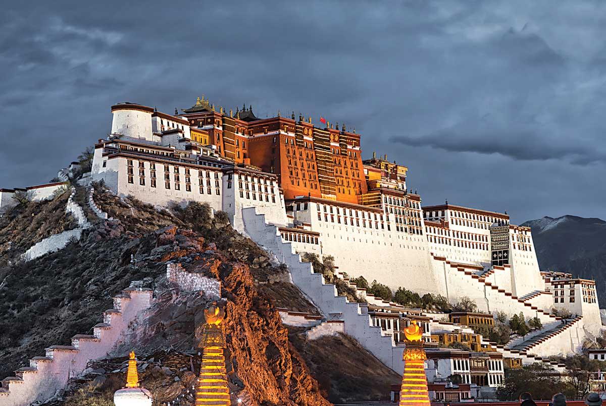 The Potala Palace, Lhasa, China Landmarks / Monuments Jigsaw Puzzle