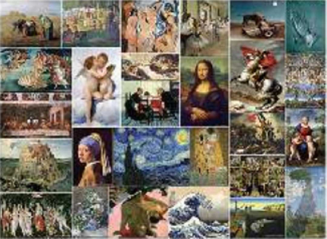 Museum Art Collection Fine Art Jigsaw Puzzle