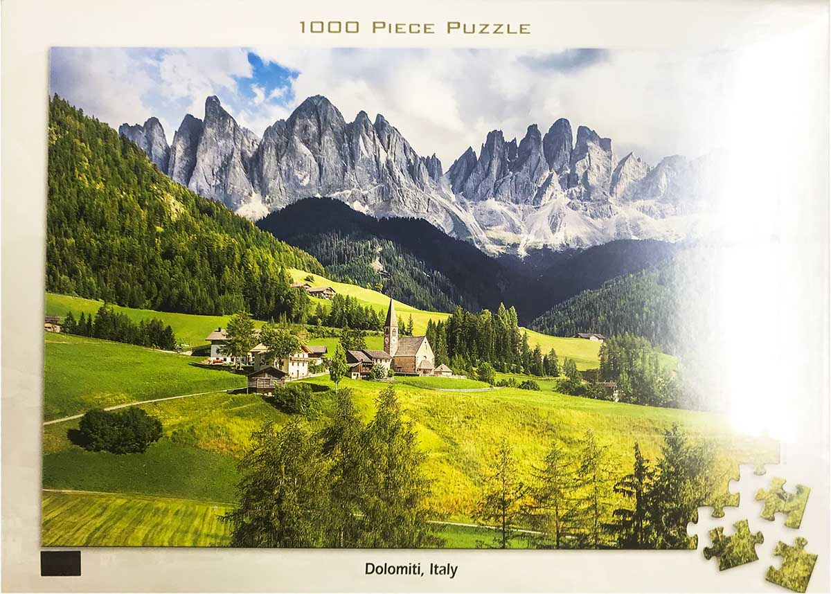 Dolomiti, Italy Mountains Jigsaw Puzzle
