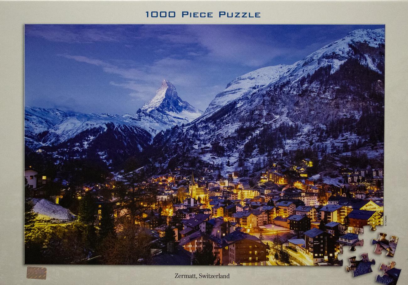 Zermatt, Switzerland Mountains Jigsaw Puzzle