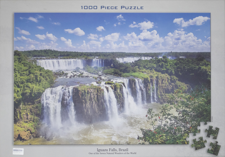 Iguazu Falls, Brazil Waterfalls Jigsaw Puzzle