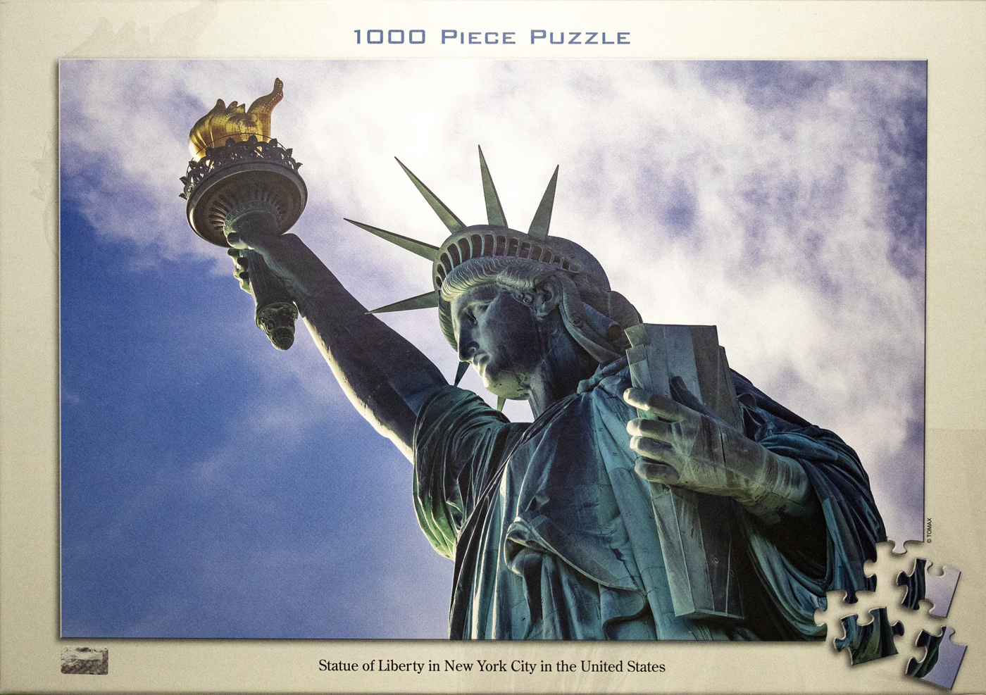 Statue Of Liberty New York New York Jigsaw Puzzle