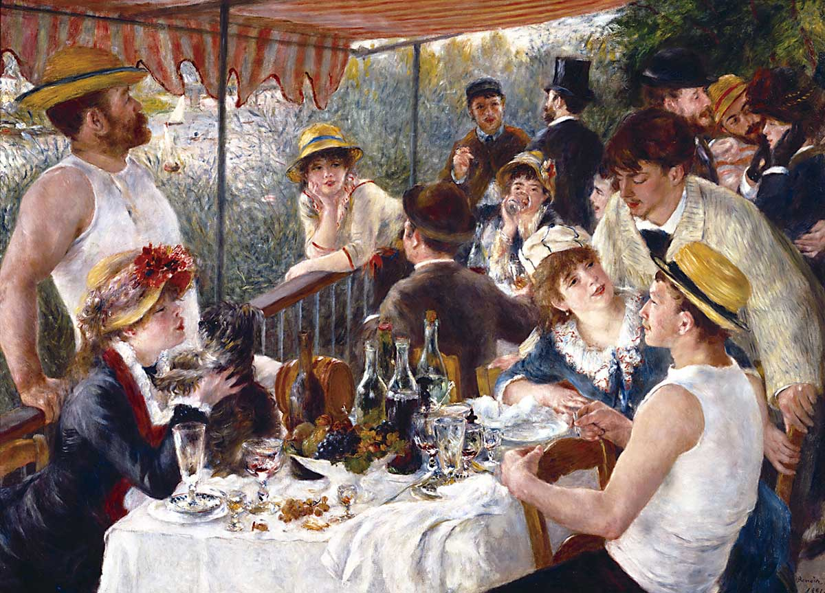 The Luncheon of the Boating Fine Art Jigsaw Puzzle