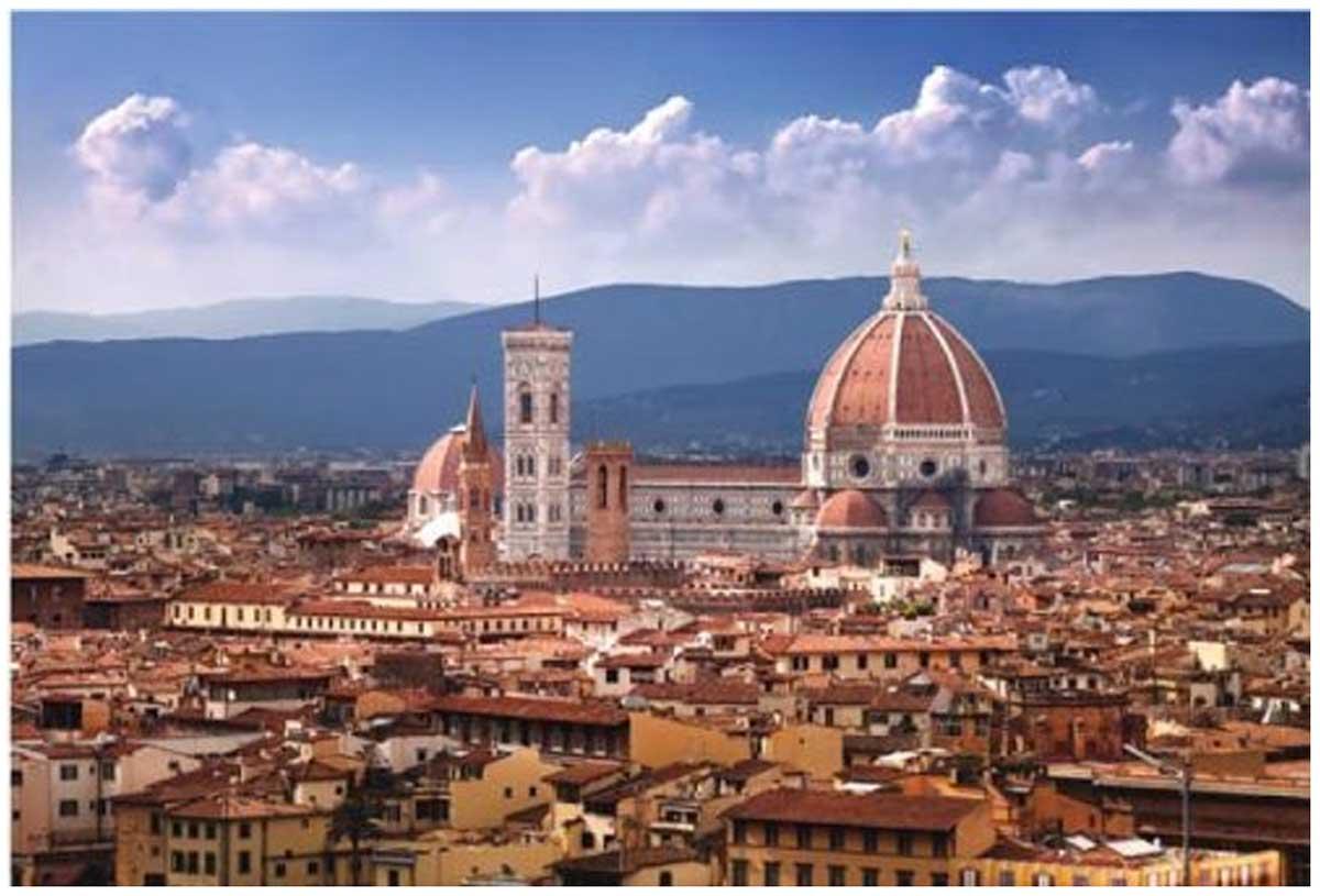Cathedral Santa Maria Del Fior Italy Jigsaw Puzzle