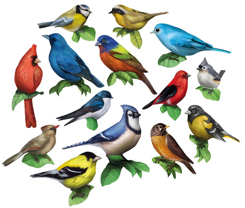 Birds I Birds Shaped Puzzle