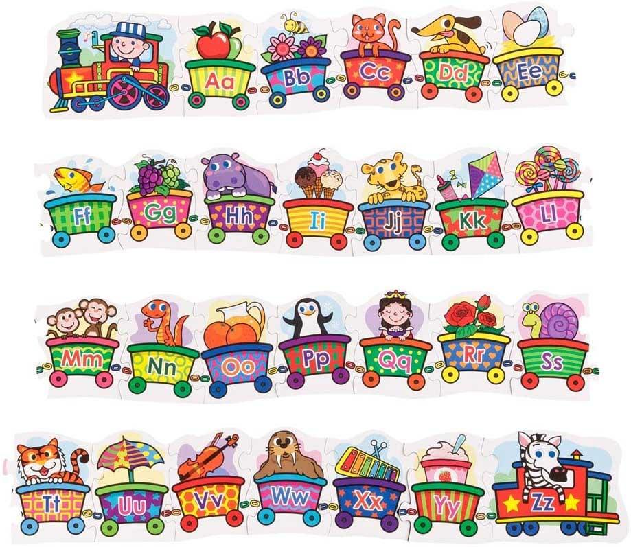 Alphabet Train Alphabet/Numbers Floor Puzzle
