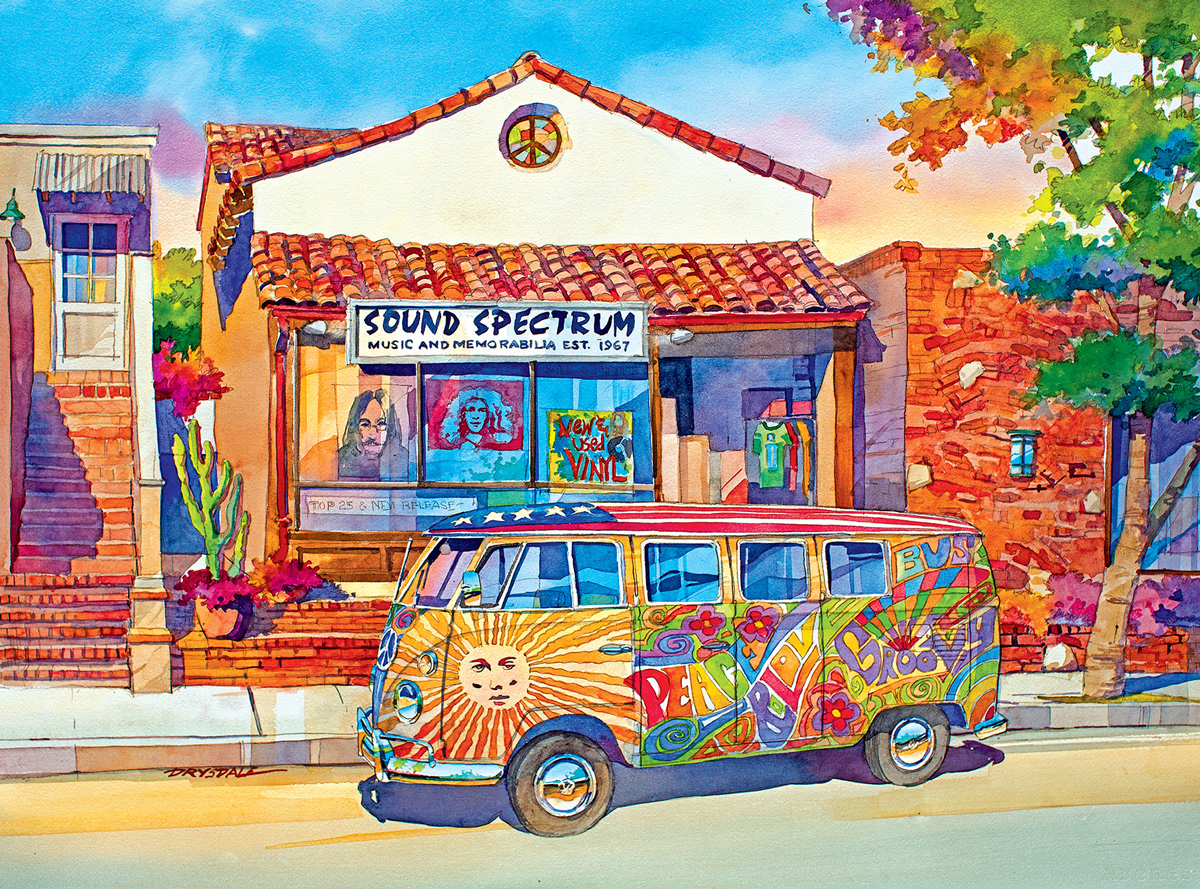 The Love Bus Vehicles Jigsaw Puzzle