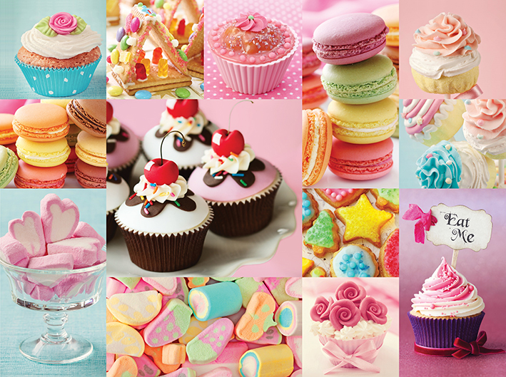 Oh So Sweet Food and Drink Jigsaw Puzzle