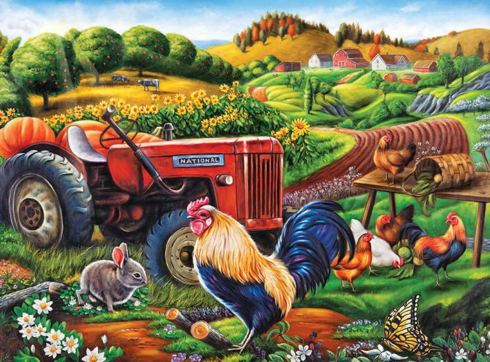 On the Farm - Scratch and Dent Farm Jigsaw Puzzle