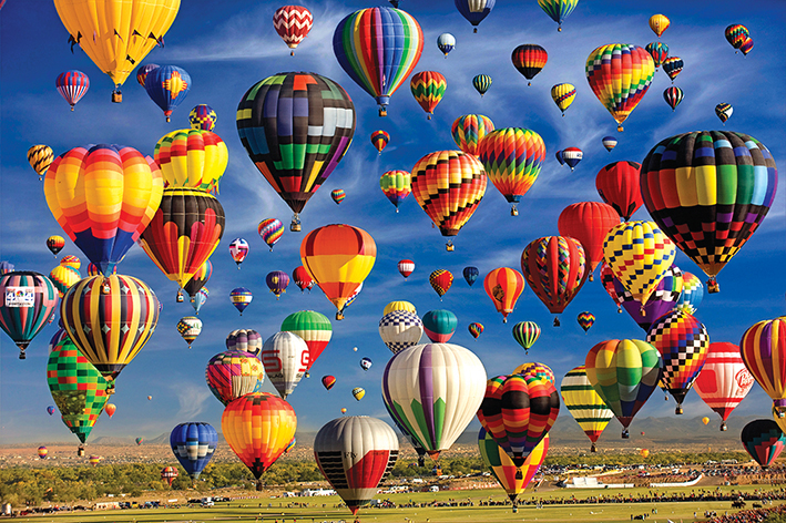 Sky Full of Balloons (Colorluxe 2000) Balloons Jigsaw Puzzle
