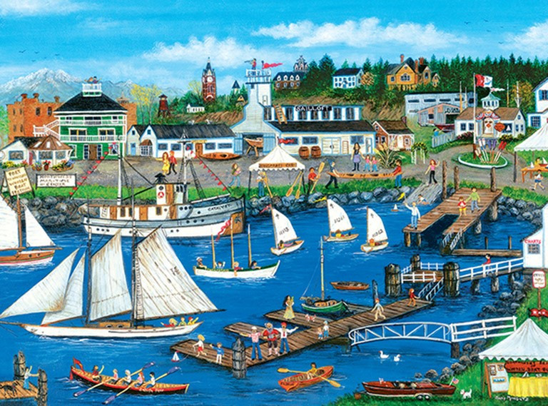 Port Townsend - Scratch and Dent Boats Jigsaw Puzzle