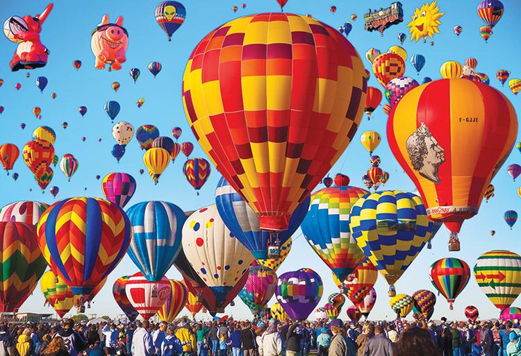 Albuquerque Balloon Fiesta (Balloons Galore) - Scratch and Dent Jigsaw Puzzle