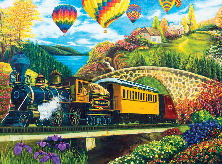 County Express - Scratch and Dent Countryside Jigsaw Puzzle