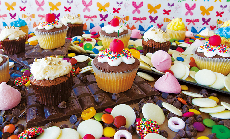 Cupcake Candy Madness Food and Drink Jigsaw Puzzle