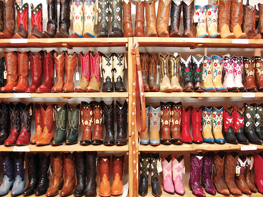 b8de9134ec6 Rows of Colorful Cowboy Boots Jigsaw Puzzle | PuzzleWarehouse.com