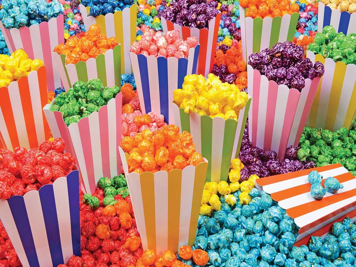 Popcorn Party Food and Drink Jigsaw Puzzle