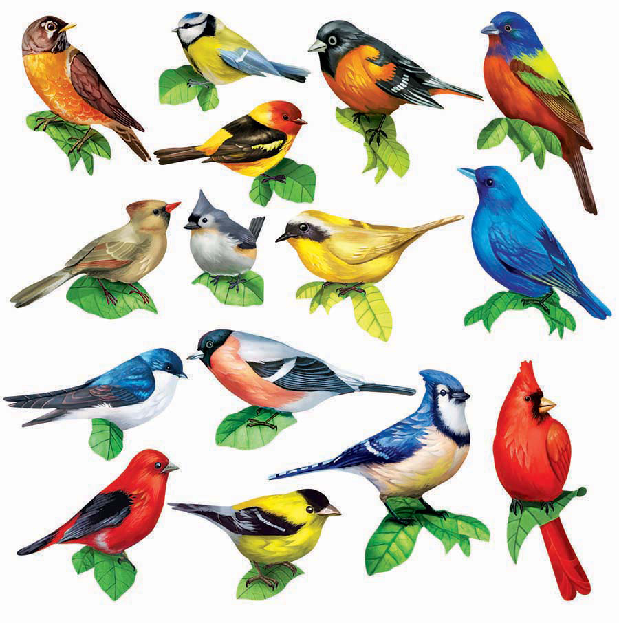 Songbirds II Birds Shaped Puzzle