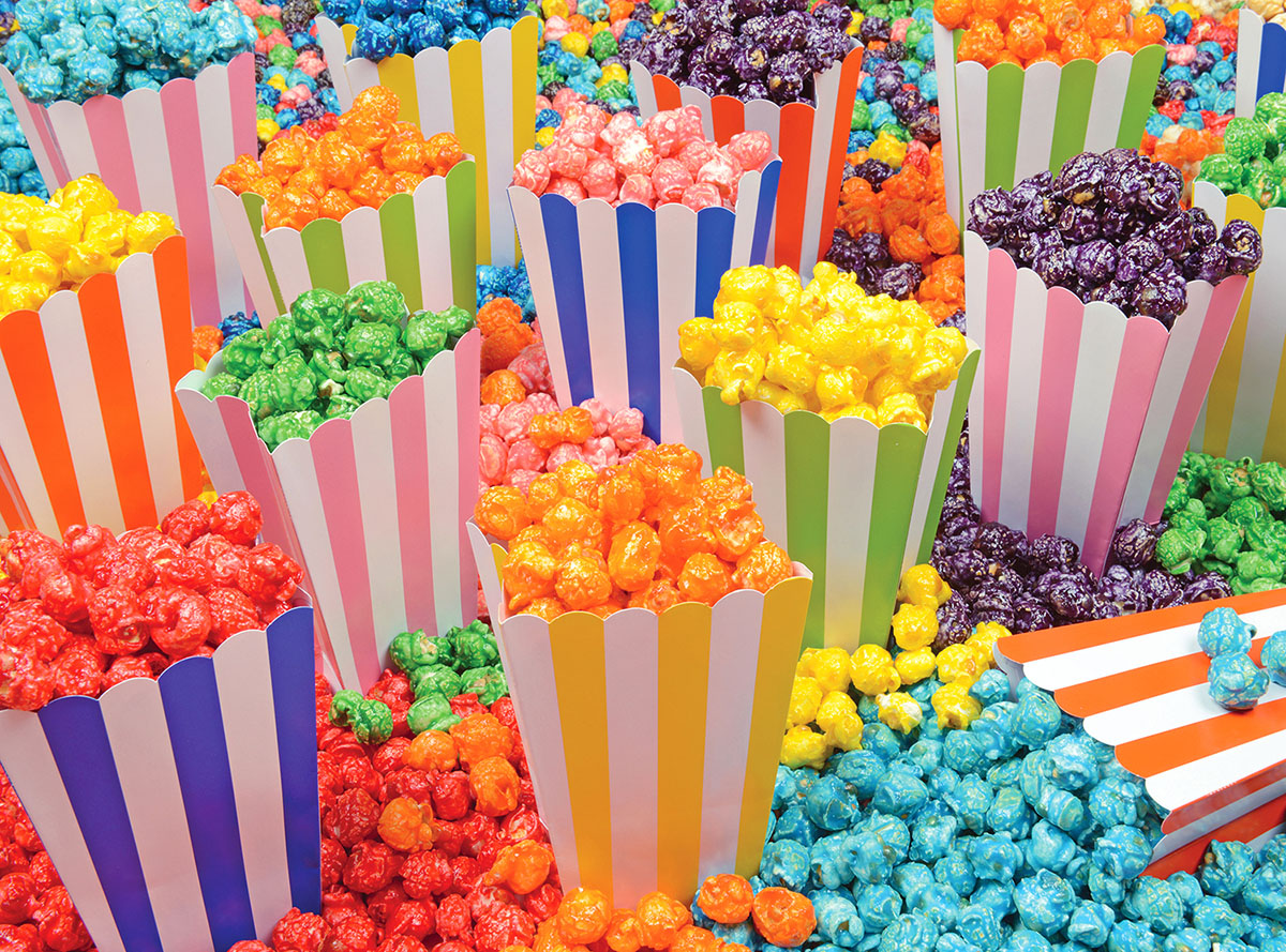Popcorn Party Sweets Jigsaw Puzzle